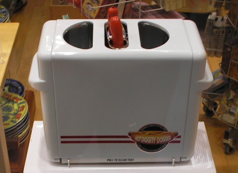 Fonctionnement d'une machine à hotdog
