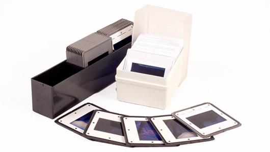 Obtenez des fichiers numériques de vos diapos avec un scanner de diapositives